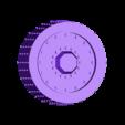 4_rad_road_wheel.stl Télécharger fichier STL gratuit Vehcile de jeu de science-fiction Flamwagen à 4 rayons • Objet imprimable en 3D, redstarkits