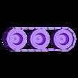 Skull_hammer_tracks.stl Télécharger fichier STL gratuit Demi-rail à vapeur / orque / orque • Modèle pour impression 3D, redstarkits