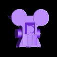 skull_hammer_front.stl Télécharger fichier STL gratuit Demi-rail à vapeur / orque / orque • Modèle pour impression 3D, redstarkits