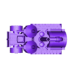 skull_hammer_complete.stl Télécharger fichier STL gratuit Demi-rail à vapeur / orque / orque • Modèle pour impression 3D, redstarkits