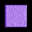 Cracked_Paving_40mm_1.stl Télécharger fichier STL gratuit Dallage fissuré / Bases carrées à effet de lave pour la saga Dungeon, Kingd of war, Warhammer fantasy battle etc • Objet imprimable en 3D, redstarkits