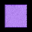 Cracked_paving_100mm_square_1.stl Télécharger fichier STL gratuit Dallage fissuré / Bases carrées à effet de lave pour la saga Dungeon, Kingd of war, Warhammer fantasy battle etc • Objet imprimable en 3D, redstarkits