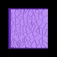 Cracked_Paving_50mm_5.stl Télécharger fichier STL gratuit Dallage fissuré / Bases carrées à effet de lave pour la saga Dungeon, Kingd of war, Warhammer fantasy battle etc • Objet imprimable en 3D, redstarkits