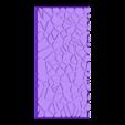 cracked_paving_style_50mm___100mm_rectangle_3.stl Télécharger fichier STL gratuit Dallage fissuré / Bases carrées à effet de lave pour la saga Dungeon, Kingd of war, Warhammer fantasy battle etc • Objet imprimable en 3D, redstarkits