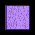 Cracked_Paving_40mm_5_.stl Télécharger fichier STL gratuit Dallage fissuré / Bases carrées à effet de lave pour la saga Dungeon, Kingd of war, Warhammer fantasy battle etc • Objet imprimable en 3D, redstarkits