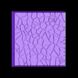 Cracked_Paving_50mm_4.stl Télécharger fichier STL gratuit Dallage fissuré / Bases carrées à effet de lave pour la saga Dungeon, Kingd of war, Warhammer fantasy battle etc • Objet imprimable en 3D, redstarkits