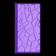 Cracked_paving__25mm___50mm_rectangle_5.stl Télécharger fichier STL gratuit Dallage fissuré / Bases carrées à effet de lave pour la saga Dungeon, Kingd of war, Warhammer fantasy battle etc • Objet imprimable en 3D, redstarkits