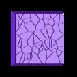 Cracked_Paving_25mm_1.stl Télécharger fichier STL gratuit Dallage fissuré / Bases carrées à effet de lave pour la saga Dungeon, Kingd of war, Warhammer fantasy battle etc • Objet imprimable en 3D, redstarkits