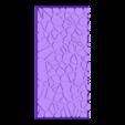 cracked_paving_style_50mm___100mm_rectangle_4.stl Télécharger fichier STL gratuit Dallage fissuré / Bases carrées à effet de lave pour la saga Dungeon, Kingd of war, Warhammer fantasy battle etc • Objet imprimable en 3D, redstarkits