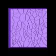 Cracked_Paving_50mm__3.stl Télécharger fichier STL gratuit Dallage fissuré / Bases carrées à effet de lave pour la saga Dungeon, Kingd of war, Warhammer fantasy battle etc • Objet imprimable en 3D, redstarkits