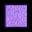 Cracked_Paving_40mm_4.stl Télécharger fichier STL gratuit Dallage fissuré / Bases carrées à effet de lave pour la saga Dungeon, Kingd of war, Warhammer fantasy battle etc • Objet imprimable en 3D, redstarkits
