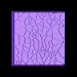 Cracked_Paving_50mm_5__1.stl Télécharger fichier STL gratuit Dallage fissuré / Bases carrées à effet de lave pour la saga Dungeon, Kingd of war, Warhammer fantasy battle etc • Objet imprimable en 3D, redstarkits