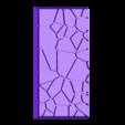 cracked_paving__25mm___50mm_rectangle_1.stl Télécharger fichier STL gratuit Dallage fissuré / Bases carrées à effet de lave pour la saga Dungeon, Kingd of war, Warhammer fantasy battle etc • Objet imprimable en 3D, redstarkits
