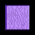 Cracked_Paving_40mm_2.stl Télécharger fichier STL gratuit Dallage fissuré / Bases carrées à effet de lave pour la saga Dungeon, Kingd of war, Warhammer fantasy battle etc • Objet imprimable en 3D, redstarkits