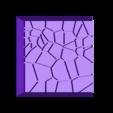 Cracked_Paving__20mm_square_3.stl Télécharger fichier STL gratuit Dallage fissuré / Bases carrées à effet de lave pour la saga Dungeon, Kingd of war, Warhammer fantasy battle etc • Objet imprimable en 3D, redstarkits
