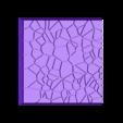 Cracked_Paving_40mm_3.stl Télécharger fichier STL gratuit Dallage fissuré / Bases carrées à effet de lave pour la saga Dungeon, Kingd of war, Warhammer fantasy battle etc • Objet imprimable en 3D, redstarkits