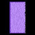 cracked_paving_style_50mm___100mm_rectangle_2.stl Télécharger fichier STL gratuit Dallage fissuré / Bases carrées à effet de lave pour la saga Dungeon, Kingd of war, Warhammer fantasy battle etc • Objet imprimable en 3D, redstarkits