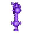bubble_chukka_A.stl Télécharger fichier STL gratuit Orque / Ork Bubble Chucker bizzar arme de science-fiction 28mm sci-fi • Plan imprimable en 3D, redstarkits