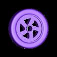 wheel_with_tire.stl Télécharger fichier STL gratuit Orc / ork Zapper / Zzzap gun 28mm wargames • Design pour impression 3D, redstarkits