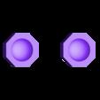 hub_caps.stl Télécharger fichier STL gratuit Orc / ork Zapper / Zzzap gun 28mm wargames • Design pour impression 3D, redstarkits