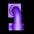 pipe_to_ground_comple.stl Télécharger fichier STL gratuit Sci-fi Réseau de tuyaux modulaire pour les paysages de wargaming • Objet à imprimer en 3D, redstarkits
