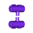 rocket_pods.stl Download free STL file Anti-aircraft tower for 28mm wargames, Warhammer, Star wars, Gas lands ect • 3D print model, redstarkits