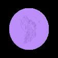 Fairy_on_the_Moon.stl Télécharger fichier STL gratuit Fée sur la Lune • Modèle imprimable en 3D, yb__magiic