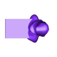 "door-stop.stl Download free STL file bloque porte "" Casa de Papel "" • 3D printing object, Cyborg"