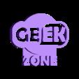 geekzone.stl Télécharger fichier STL gratuit zone geek • Plan pour impression 3D, IDfusion