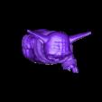 yodapug.obj Télécharger fichier OBJ gratuit Yodapug bébé yoda • Modèle imprimable en 3D, Marolce19