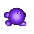 MM_Kirby_KeyChain.stl Télécharger fichier STL gratuit Kirby KeyChain MMU • Objet pour impression 3D, GreyBeard3D