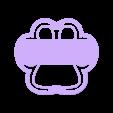 PAW PATROL Huella.stl Télécharger fichier STL PATROUILLE DE PATROUILLE D'EMPREINTES DIGITALES MOULE À BISCUIT FONDANT • Plan imprimable en 3D, Gustavo015