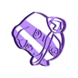 rocky.stl Télécharger fichier STL PATROUILLE DE PATTES : UN EMPORTE-PIÈCE DE FONDANT ROCHEUX • Objet imprimable en 3D, Gustavo015