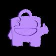 SuperMeatBoy_Porte_Clefs.stl Download free STL file Super Meat Boy Keychain • Model to 3D print, conceptify