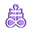 P_Noir-Brimstone.stl Download free STL file Brimstone Keychain • 3D printer template, conceptify