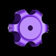 JGA5_THUMBWHEEL_tap.stl Télécharger fichier STL gratuit remplacment jg aurora a5 écrou de nivellement • Plan imprimable en 3D, Punisher_4u