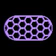 """vent_100x50_support.stl Télécharger fichier STL gratuit Grille de ventilation 100x50mm (4x2"""") • Objet imprimable en 3D, peaberry"""