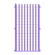 32x8_matrix_v08.stl Télécharger fichier GCODE gratuit 32x8 LED Grille matricielle pour diffuseur • Design à imprimer en 3D, peaberry