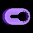 single_hanger.stl Télécharger fichier STL gratuit Cintre à trou de serrure (simple et double) • Modèle imprimable en 3D, peaberry