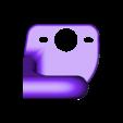 SOPORTE POLEA EXTRUSOR V2.stl Télécharger fichier STL gratuit GUIDE DU FILAMENT Ender 3 • Plan pour impression 3D, ricgtena