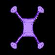 Frame_30x30.stl Télécharger fichier STL gratuit Cadre du quadriporteur Exorcist Racing (nouveau modèle) • Design pour impression 3D, DuckyRC