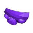 3oso.stl Download free STL file fortnite bear full head mask . mascara • 3D printer object, gaaraa