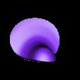 bottom white.stl Télécharger fichier STL gratuit Tuxedo Sam (l'ami de Hello Kitty) Pingouin (タキシードサム, Takishīdosamu) • Objet pour impression 3D, Jangie