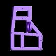 NCS_RaspberrypowerRumbamount.stl Download free STL file NCS P3-v Steel Raspberry Rumba With Power port mount for P3 steel • 3D printing template, trentjw