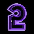 5-Five.stl Télécharger fichier STL gratuit Numéros de Play-Doh/Cookie Cutters • Plan imprimable en 3D, RT3DWorkshop