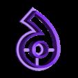 9-Nine.stl Télécharger fichier STL gratuit Numéros de Play-Doh/Cookie Cutters • Plan imprimable en 3D, RT3DWorkshop