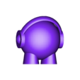 marvin headphone_small_bdl.stl Download free STL file Marvin headphone • 3D printable template, symbo_leo