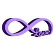 infinite_love.stl Download free STL file Infinite Love • 3D print model, funkTLS