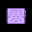Crown Ring 22mm.obj Télécharger fichier OBJ gratuit Bague de la couronne Brutal • Objet pour imprimante 3D, quaddalone