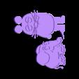 """Die_Maus_Black_base.stl Télécharger fichier STL gratuit """"Die Maus"""" de la télévision allemande • Design pour imprimante 3D, Supasa"""